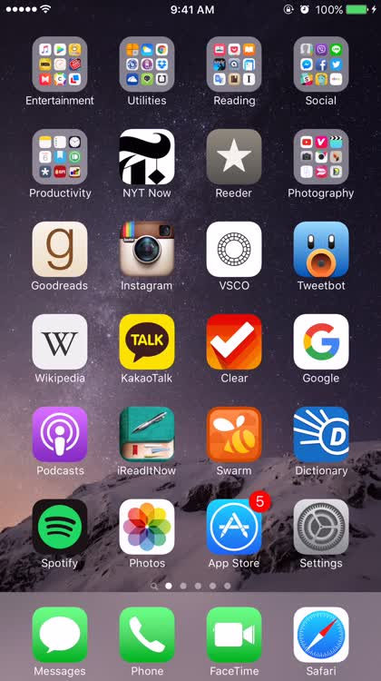 Block contact FaceTime app