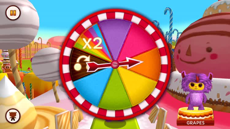 Spin the wheel and you're on your way