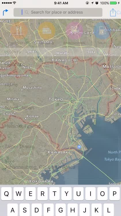 Apple Maps Nearby Japan