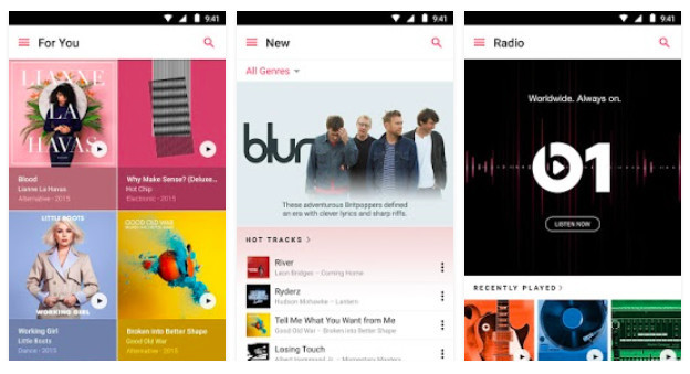 Apple Music for Android.