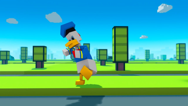 Why did Donald Duck cross the road?