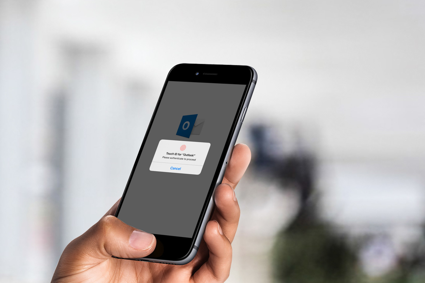 Microsoft Outlook for iOS updated with Touch ID protection