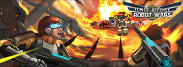 Thwart the robopocalypse in Tower Defense: Robot Wars