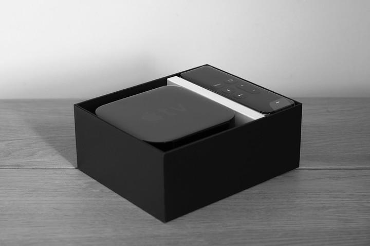 The fourth-generation Apple TV