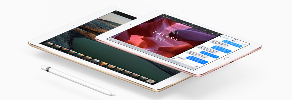 Pro features on a 9.7-inch iPad