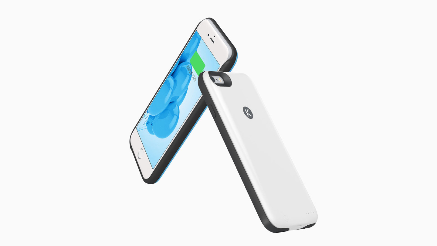 KUKE iPhone case offers battery power and digital storage