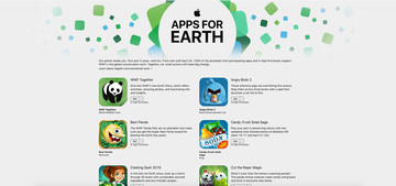 Celebrate our planet by downloading one of these great 'Apps for Earth'