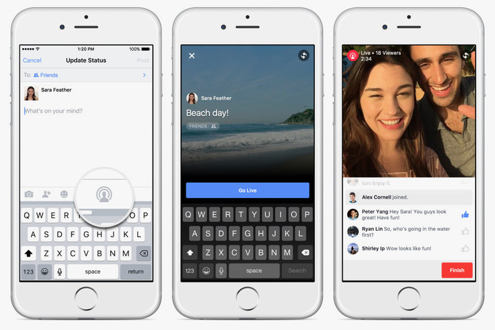 Facebook has been making a big push into video.