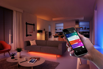 The Philips Hue App Features a New Home Dashboard, Personalized Widgets and More
