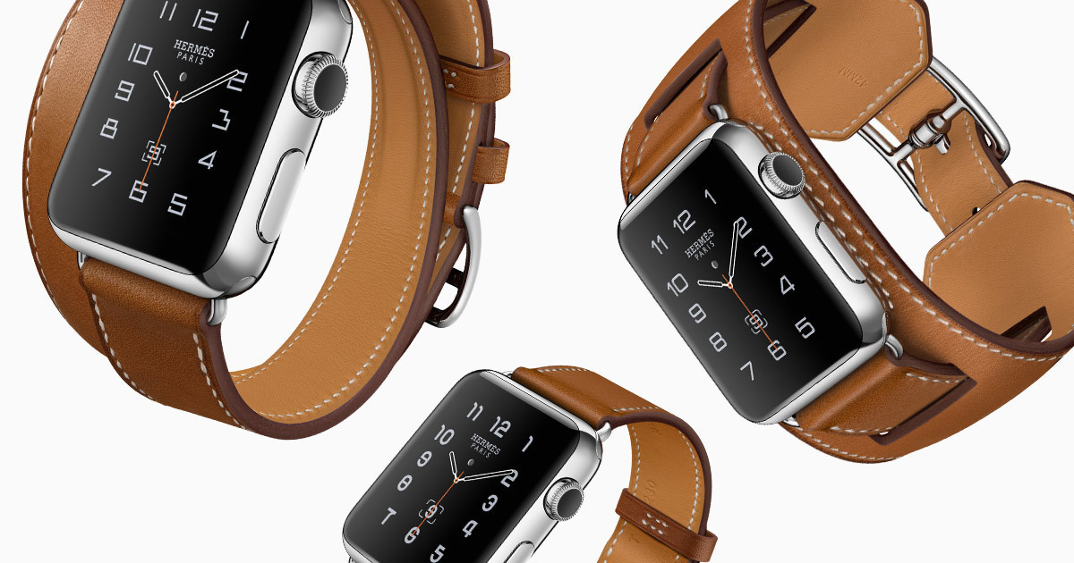 Hermès Apple Watch bands