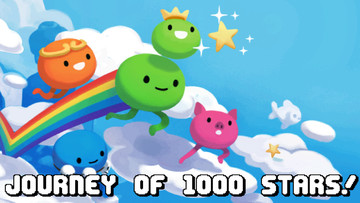Keep on bouncing in Journey of 1000 Stars