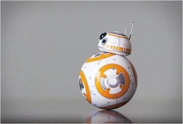 Join forces with Sphero's BB-8 for your home-viewing of 'Star Wars: The Force Awakens'