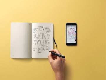 Moleskine's smart pen digitizes notes written on actual paper