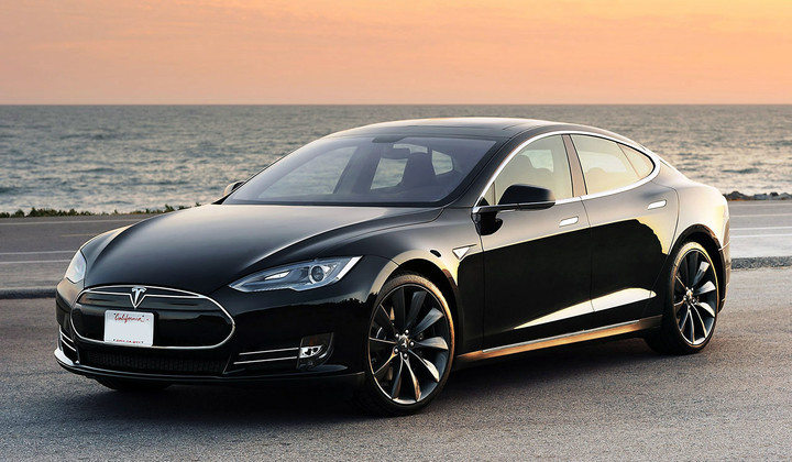 I suspect Apple's car will look much more like Tesla's Model X rather than Motor Trend's concept.