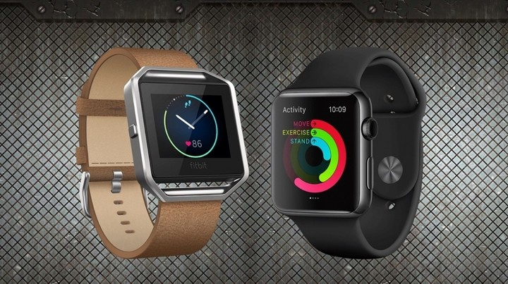 Fitbit Blaze versus Apple Watch