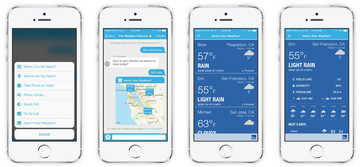 Check and Share Your Weather With Cola Messenger