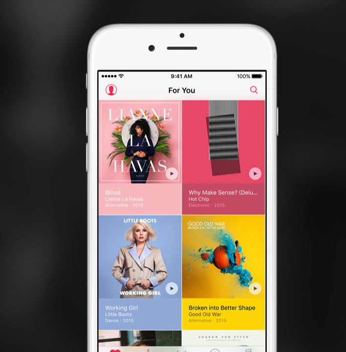 Apple Music has around 13 million subscribers.