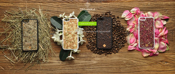 The New Organika iPhone Case Features Natural Material