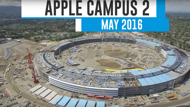 Construction of Apple Campus 2 Continues to Progress