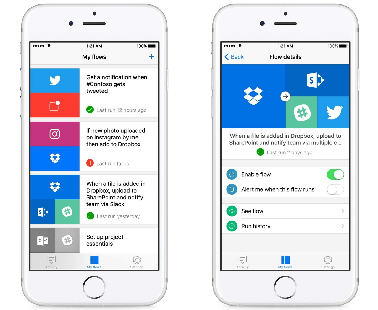 Microsoft Unveils New Apps for Its Flow and SharePoint Services