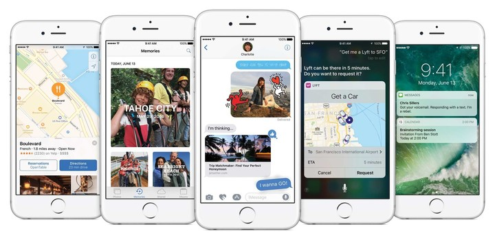 After a beta testing period, iOS 10 will officially arrive to the public in the fall.