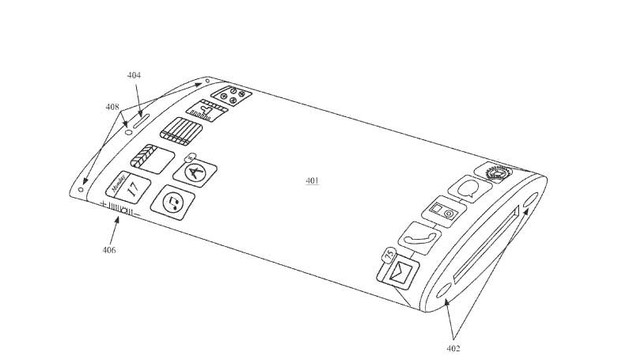 A New Apple Patent Details an iPhone with a Wrap Around Display