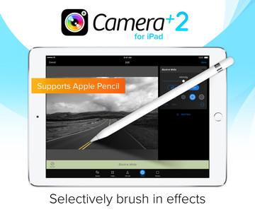 Camera+ 2.0 for the iPad Arrives with More Editing Tools and Apple Pencil Support