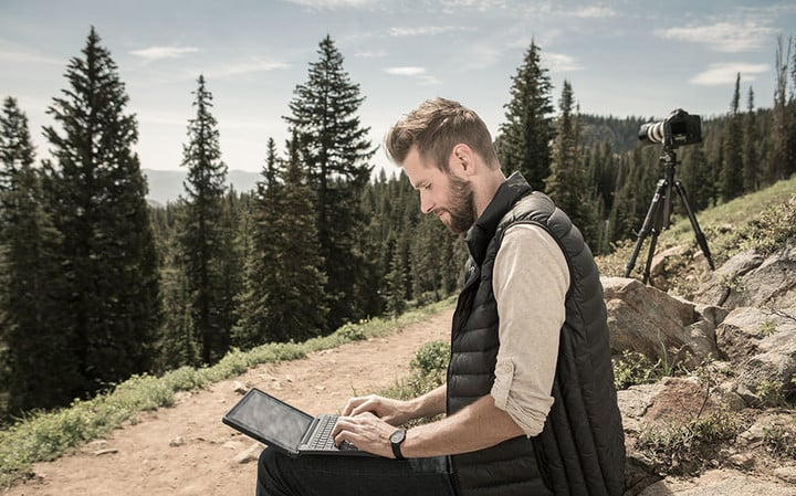 Use the ZAGG Rugged Book like you would a laptop