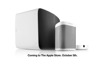 Sonos Connected Speakers Are Coming to Apple Retail Stores, Online