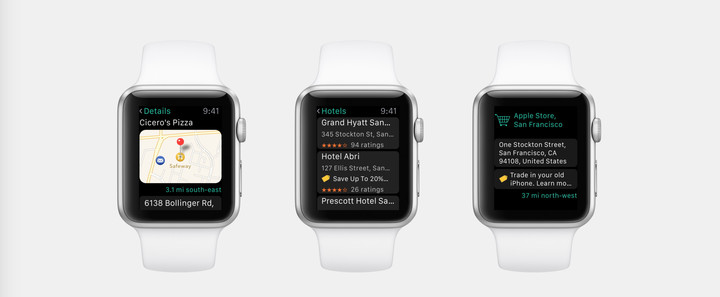 You can also access the great app on the Apple Watch.