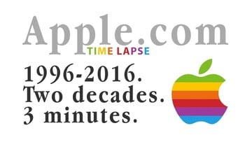 Watch 2 Decades of the Apple.com Website in 3 Minutes