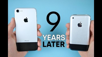 Fun Times: Comparing the Original iPhone to the iPhone 7