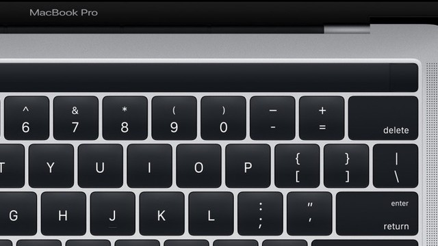 Images of New MacBook Pro With Magic Toolbar Leak