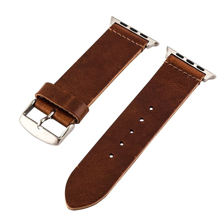 Clockwork Synergy Leather Apple Watch Band