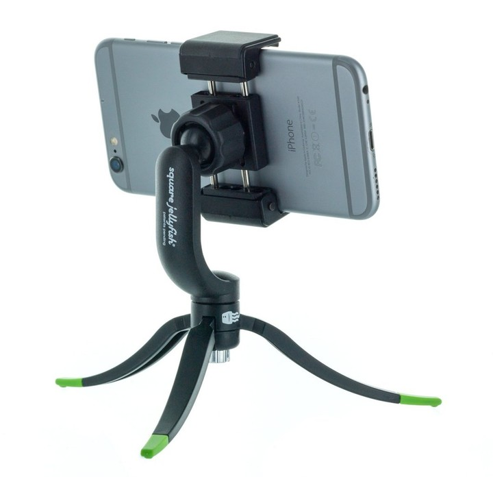 Square Jellyfish Jelly Grip Tripod Mount