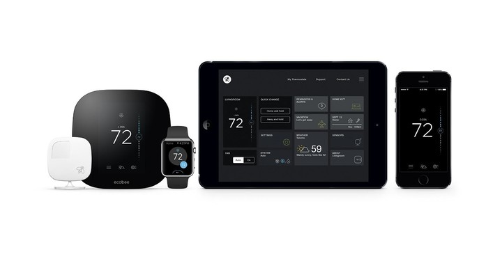 Along with interacting with the thermostat through Siri, you can use the companion app on an iPhone, iPad, or even the Apple Watch.