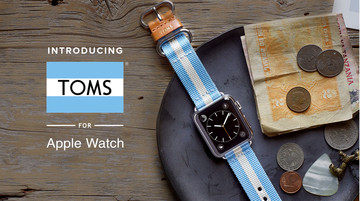 Toms Unveils a New Line of Apple Watch Bands