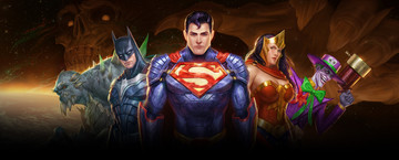 Superheroes and Supervillains Unite in DC Legends
