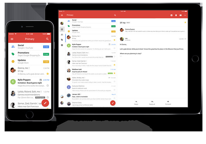 This is the biggest iOS Gmail update in four years.