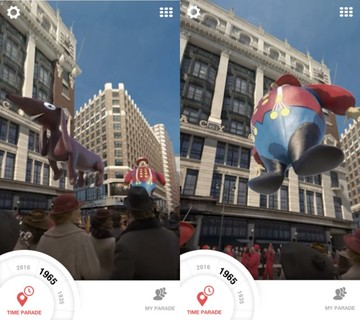 Macy's Parade Time Traveler Lets You Experience Parades From the Past