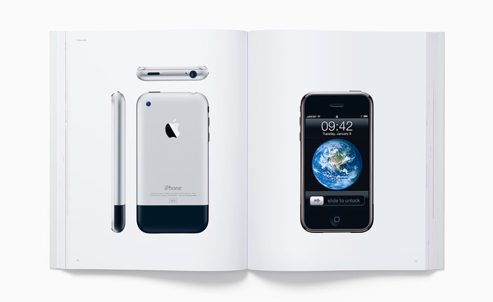"""Designed by Apple in California"" book which many think is a dedication to Ive's work."