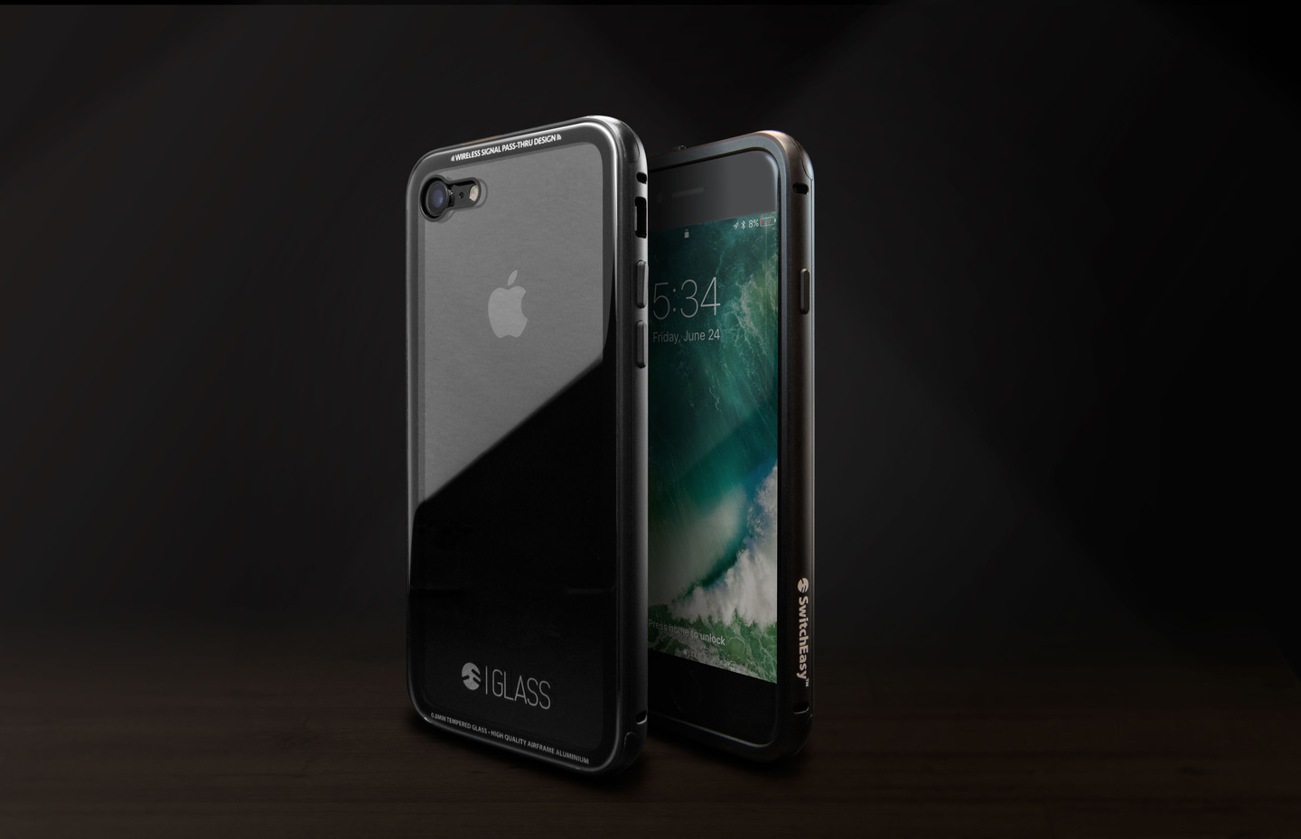 switcheasy iphone 7 plus  SwitchEasy's New 'Glass' Case is Designed for the Jet Black iPhone 7 ...