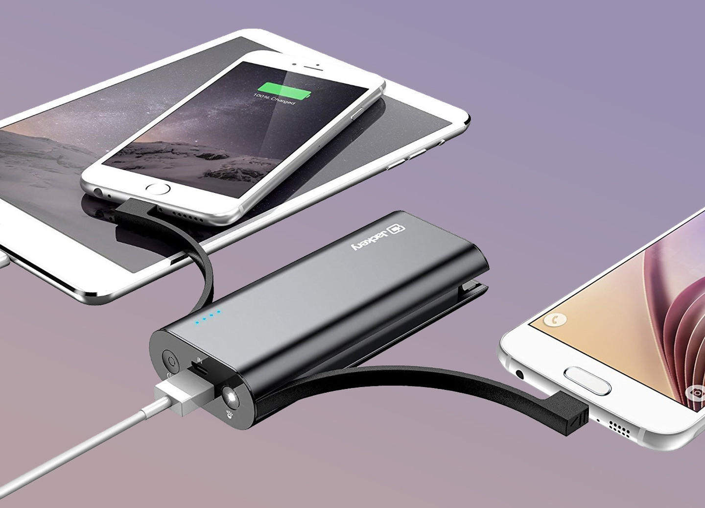 Jackery Bolt 6,000mAh Favorite External Battery