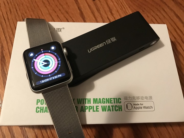 Magnetic Charger for Apple Watch rings