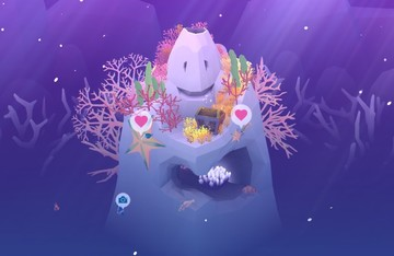Abyssrium Lets You Help a Lonely Corallite Fill the Ocean With Joy