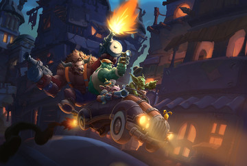 Hearthstone Gets New Cards and Mechanics With Mean Streets of Gadgetzan Expansion