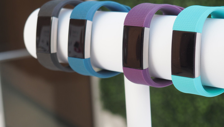 Various FitBit Charge 2 colors