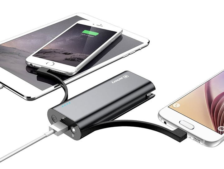 The Jackery Bolt is our favorite external battery