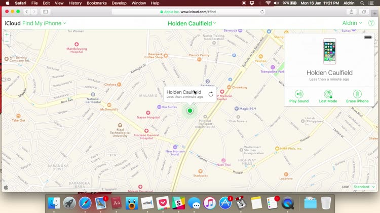 Find My iPhone Lost Mode
