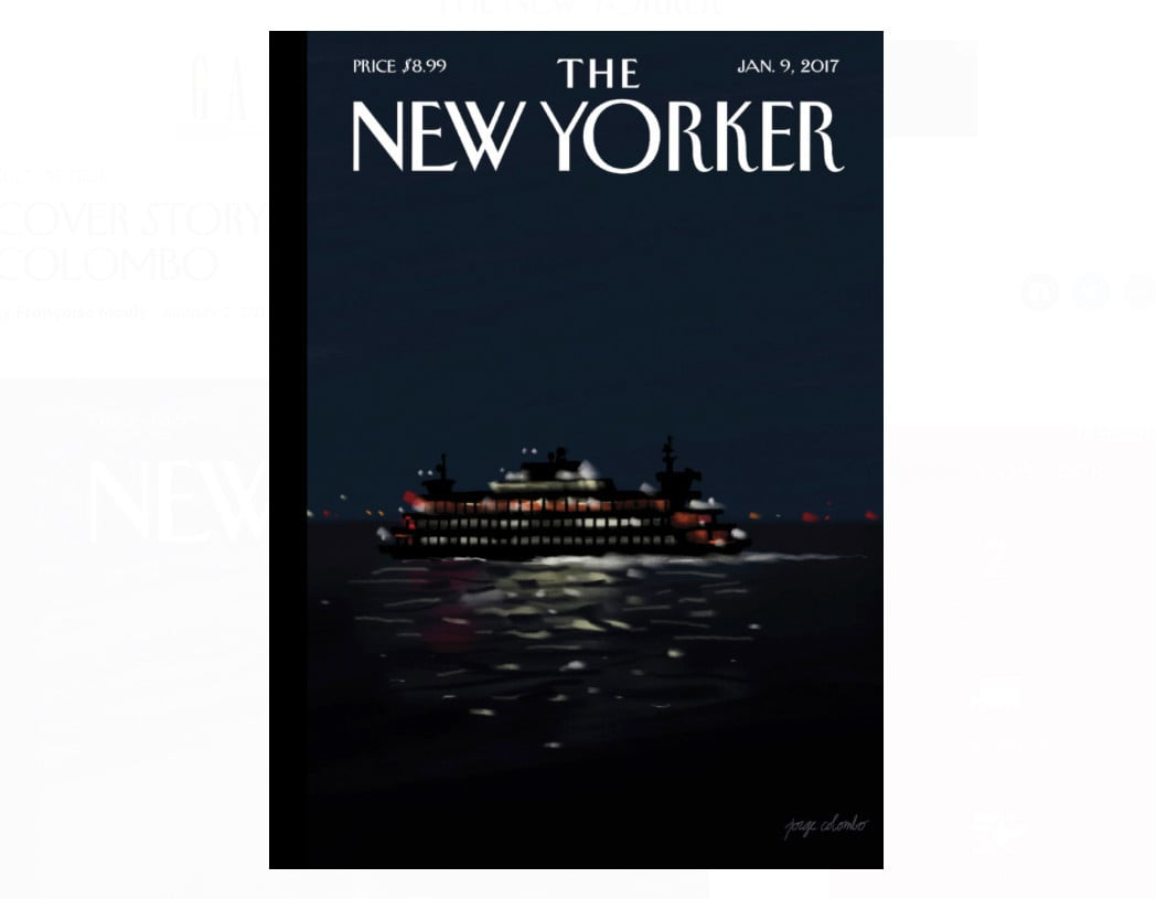 New Yorker Magazine Cover